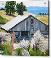 Chama Valley Barn Acrylic Print