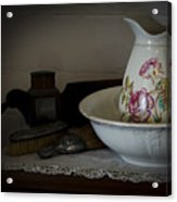 Chamber Pitcher With Basin 2 Acrylic Print