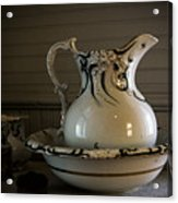 Chamber Pitcher With Basin 3 Acrylic Print