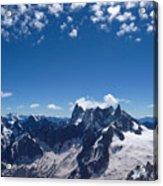 Chamonix Alpine View Acrylic Print