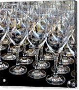 Champagne Army Acrylic Print
