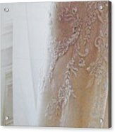 Champagne Lace Acrylic Print