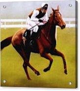 Champion Hurdle - Winner - Morley Street Acrylic Print