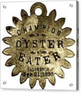 Champion Oyster Eater - To License For Professional Use Visit Granger.com Acrylic Print