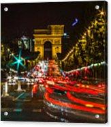 Champs Elysees Acrylic Print