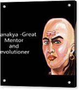 Chanakya The Great Acrylic Print