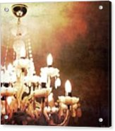 Chandelier Acrylic Print