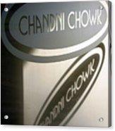 Chandi Chowk Acrylic Print