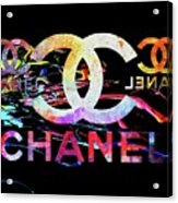 Chanel Black Acrylic Print