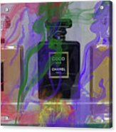Chanel Coco Abstract Acrylic Print