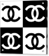 Chanel Design-5 Acrylic Print