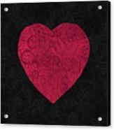 Chanel Heart-1 Acrylic Print