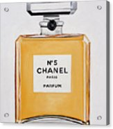 Chanel Me Acrylic Print by Denise H Cooperman