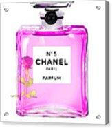 Chanel N 5 Perfume Print Acrylic Print