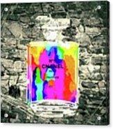 Chanel No. 5 Stone Wall Acrylic Print