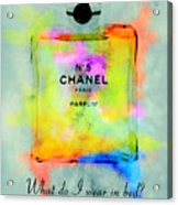 Chanel No.5  Acrylic Print