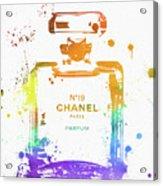 Chanel Number Nineteen Acrylic Print