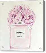 Chanel Peonies Acrylic Print