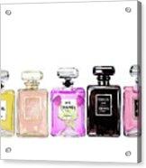 Chanel Perfume Print Set Chanel Poster Acrylic Print