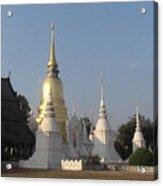 Chang Mai Temple Acrylic Print