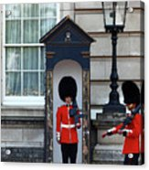 Changing Of The Guard 2 Acrylic Print