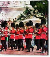 Changing Of The Guard Acrylic Print