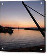 Chania Harbour Acrylic Print