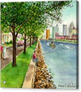 Channel Drive Tampa Florida Acrylic Print