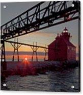 Channel Light, Dawn Acrylic Print