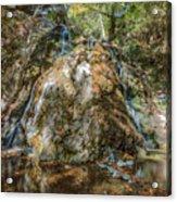 Chantara Waterfalls - Cyprus Acrylic Print