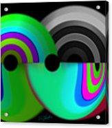 Chaos Balls Acrylic Print