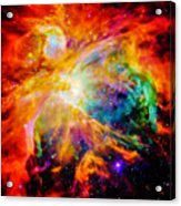 Chaos In Orion Acrylic Print