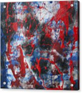 Chaos Acrylic Print by Mordecai Colodner