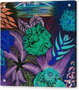 Chaotic Beauty Invert Acrylic Print