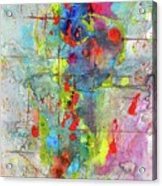 Chaotic Craziness Series 1989.033014 Acrylic Print