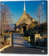 Chapel At Glassy Acrylic Print