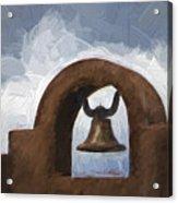 Chapel Bell Chimayo Painterly Effect Acrylic Print