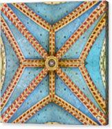 Chapel Ceiling Acrylic Print