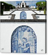 Chapel In The Azores Acrylic Print