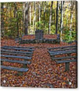 The Chapel In The Park Acrylic Print