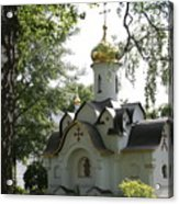 Chapel In The Trees Acrylic Print