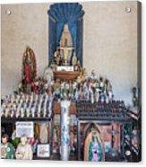Chapel Mortuary Interior - San Xavier Del Bac Mission - Tucson Arizona Acrylic Print
