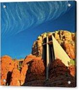 Chapel Of The Holy Cross, Sedona, Arizona Acrylic Print