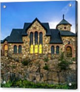 Chapel On The Rock Acrylic Print