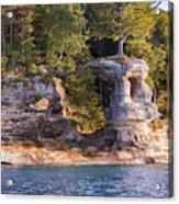 Chapel Rock Acrylic Print