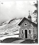 Chapelle Des Aravis Acrylic Print
