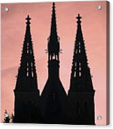 Chapter Church Of St Peter And Paul Acrylic Print