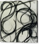 Charcoal Arc Drawing 6 Acrylic Print