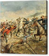 Charge Of The Seventh Cavalry Acrylic Print