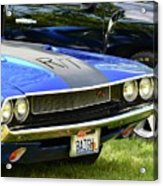 Challenger R/t Acrylic Print